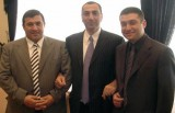 Ազգային ժողովի պատգամավորներ Ռուբեն Հայրապետյան, Սամվել Ալեքսանյան և Լևոն Սարգսյան